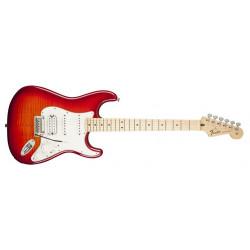 Fender Deluxe Strat Hss Plus Ios Aged Cherry Burst