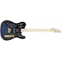 Fender James Burton Telecaster Plus (mn) Blue Paisley Flames