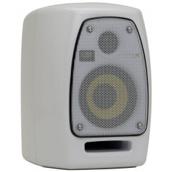 Krk Vxt4w Two-way Active Powered Monitorw/ Custom Paint White Glossy Uv Protective