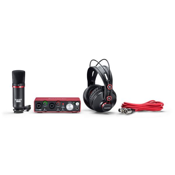 Аудиоинтерфейсы Focusrite Scarlett Studio 2nd Gen - 1