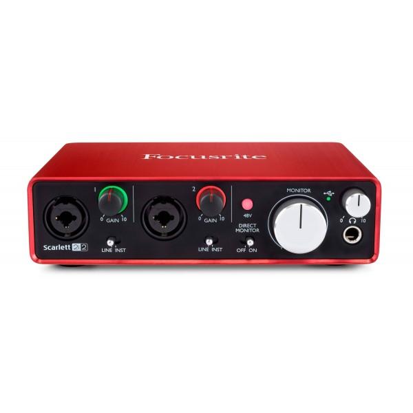 Аудиоинтерфейсы Focusrite Scarlett 2i2 2nd Gen - 1