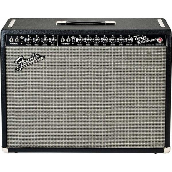 Fender `65 Twin Reverb 85 Watts 2-12` Jensen Black Tolex