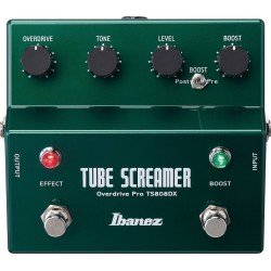 Ibanez Ts808dx Tubescreamer Overdrive Pro