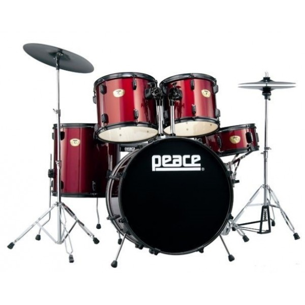 Peace DP-202BK-22 Wine red