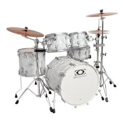 Drumcraft Series 7 Progressive Liquid Chrome Satin Chrome HW