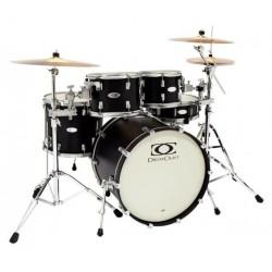 Drumcraft Series 8 Progressive Electric Black Satin Chrome HW