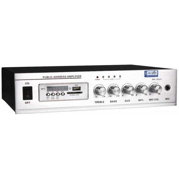 Трансляционные усилители мощности PROAUDIO MA-50UF - 1