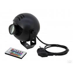 Приборы световых эффектов EUROLITE LED PST-9 TCL IR spot - 1