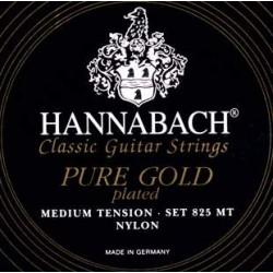 Hannabach 825MT Black PURE GOLD