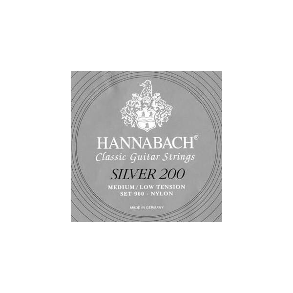 Hannabach 900MLT SILVER 200