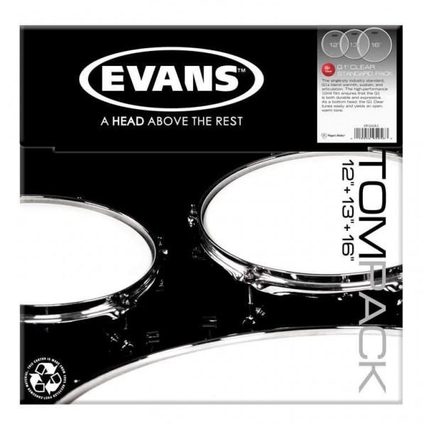 Evans ETP-G1CLR-S G1 Clear Standard