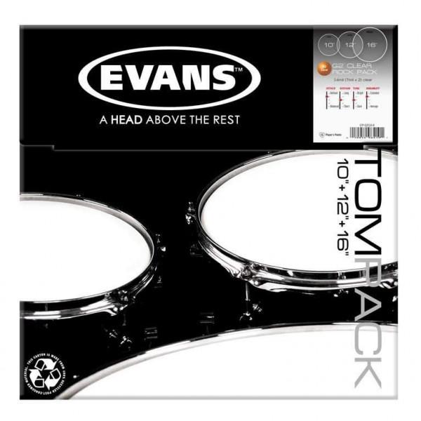 Evans ETP-G2CLR-R G2 Clear Rock