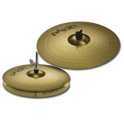 Барабанные тарелки Paiste 000014ES14 101 Brass Essential Set - 1