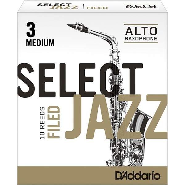 Rico RSF10ASX3M Select Jazz