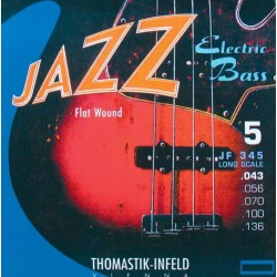 Thomastik JF345 Jazz Flat Wound