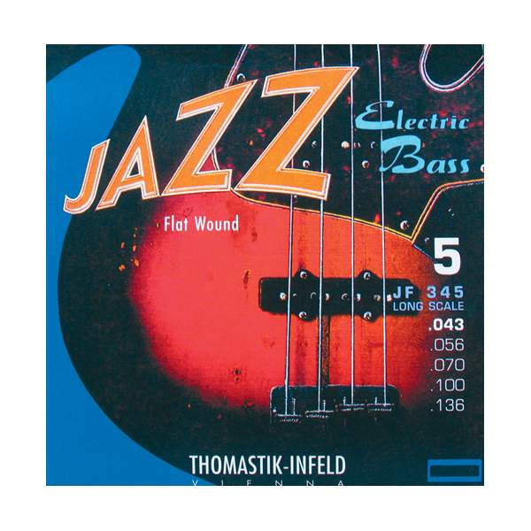 Thomastik JF345 Jazz Flat Wound