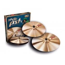 Барабанные тарелки Paiste 000170RSET PST 7 Rock Set - 1