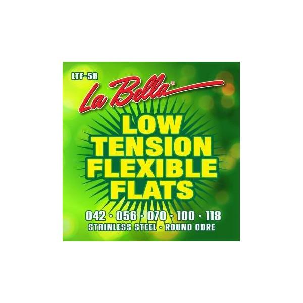 La Bella LTF-5A Low Tension Flexible Flats