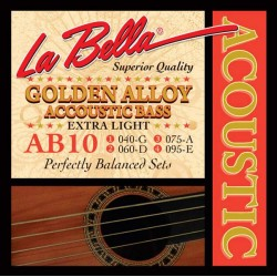 La Bella AB-10 Golden Alloy