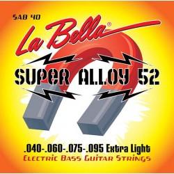 La Bella SAB40 Super Alloy 52