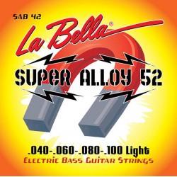 La Bella SAB42 Super Alloy 52