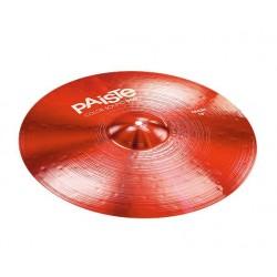 Барабанные тарелки Paiste 0001921416 Color Sound 900 Red Crash - 1