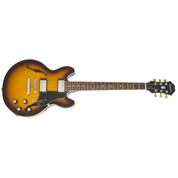 Полуакустические гитары Epiphone Es-339 Vintage Sunburst - 1