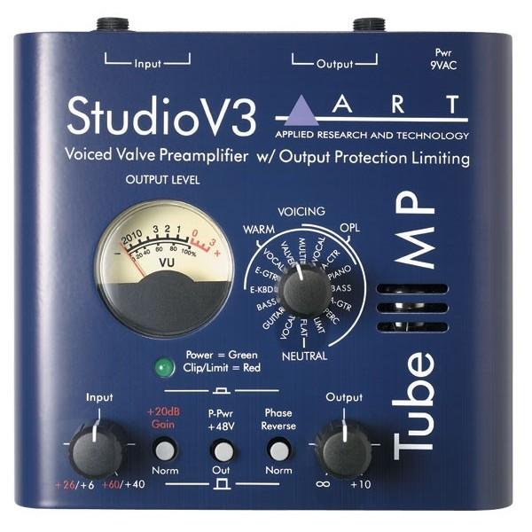 Студийные предусилители ART Tube MP Studio V3 - 1