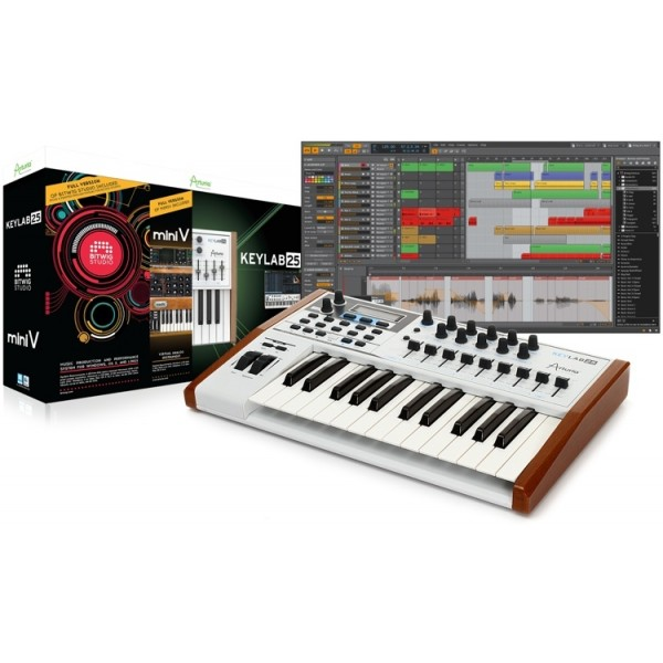 Arturia KeyLab 25 Producer Pack