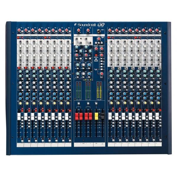 Аналоговые микшерные пульты Soundcraft LX7ii-16 - 1