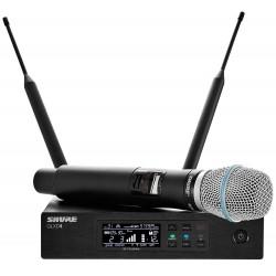 Радиосистемы c микрофоном SHURE QLXD24E/B87A G51 - 1
