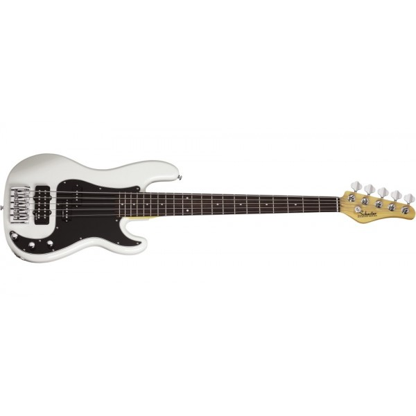 Schecter Diamond-P Custom-5 WHT