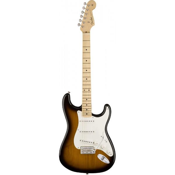 Fender American Original `50s Stratocaster, Maple Fingerboard, 2-Color Sunburst