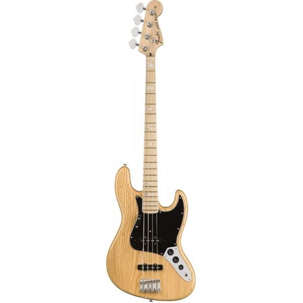 Fender American Original `70s Jazz Bass, Maple Fingerboard, Natural