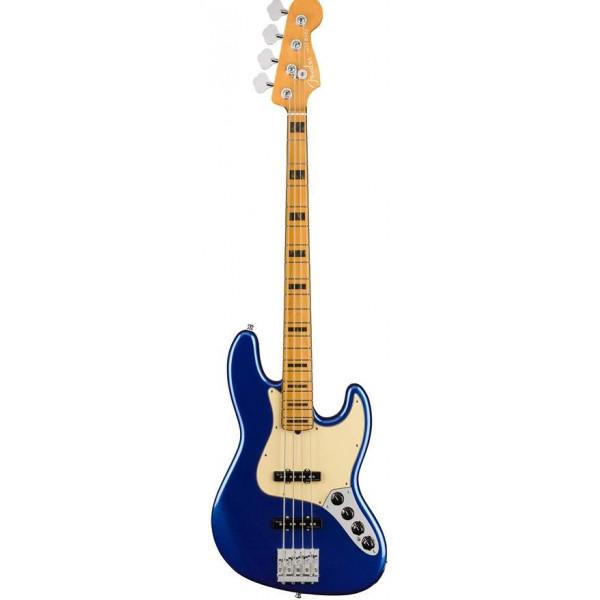 FENDER American Ultra Jazz Bass, Maple Fingerboard, Cobra Blue