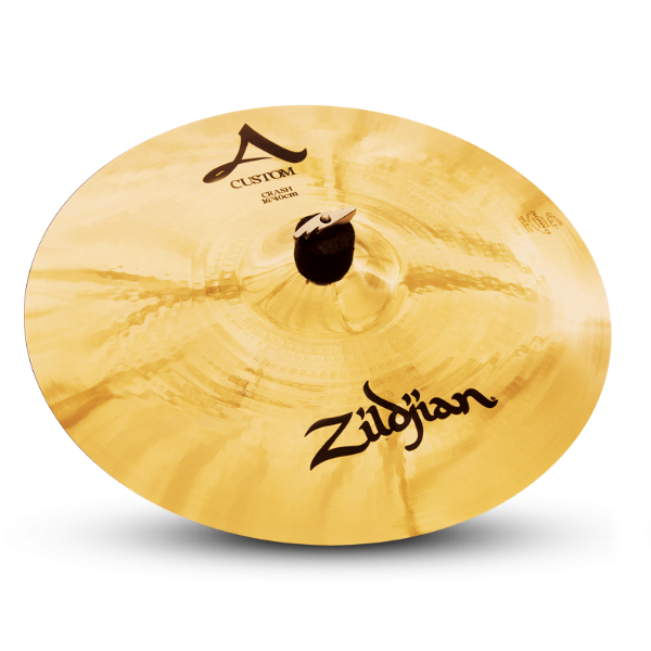Барабанные тарелки ZILDJIAN A20514 16` A` CUSTOM CRASH - 1