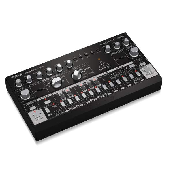 Аналоговые синтезаторы BEHRINGER TD-3-BK - 1