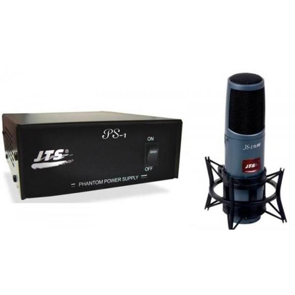Студийные конденсаторные микрофоны JTS JS-1TUBE/PS-9 - 1
