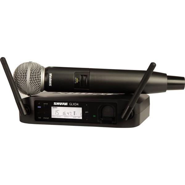 Shure GLXD24E/SM58 Z2 2.4 GHz
