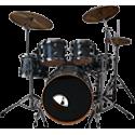 Акустические барабанные установки